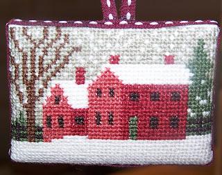 Little House Needleworks: Just Cross Stitch Ornament