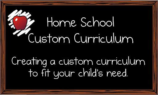 Home School Custom Curriculum