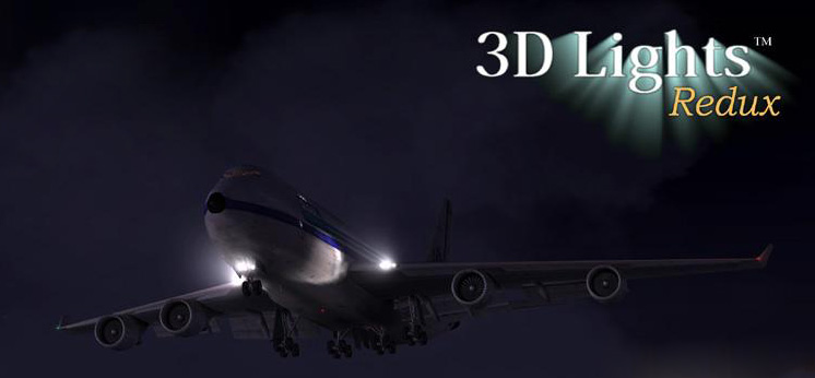 Shockwave 3D Lights Redux para seu FS2004, um ótimo utilitário que