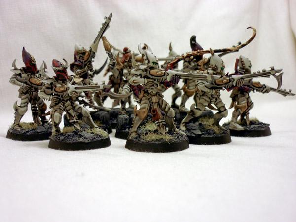 Dark Eldar White Paint Scheme