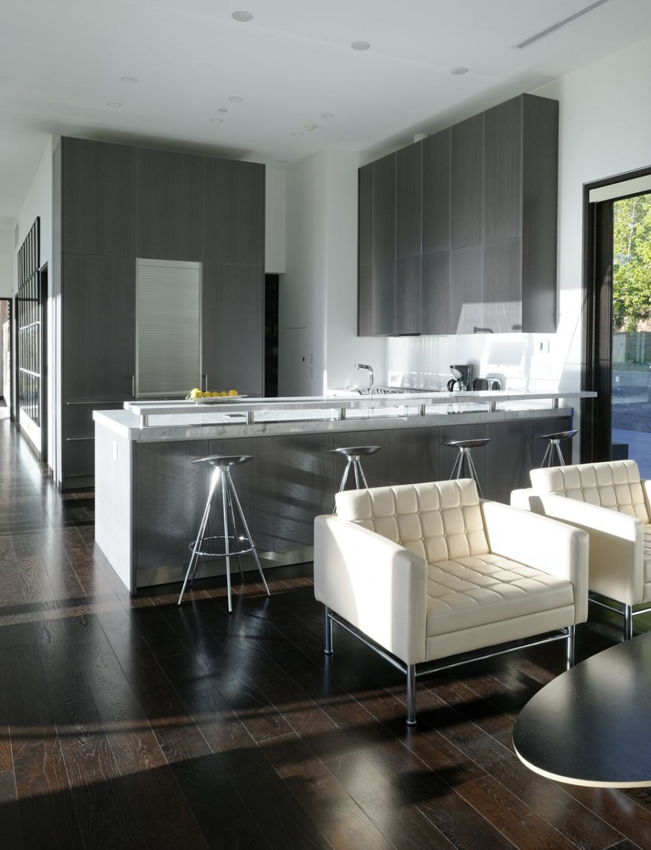The scholl residence in aspen colorado usa most for Kitchen design grey