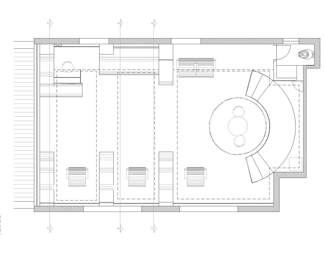 Barber shop layout best layout room for Shop construction plans