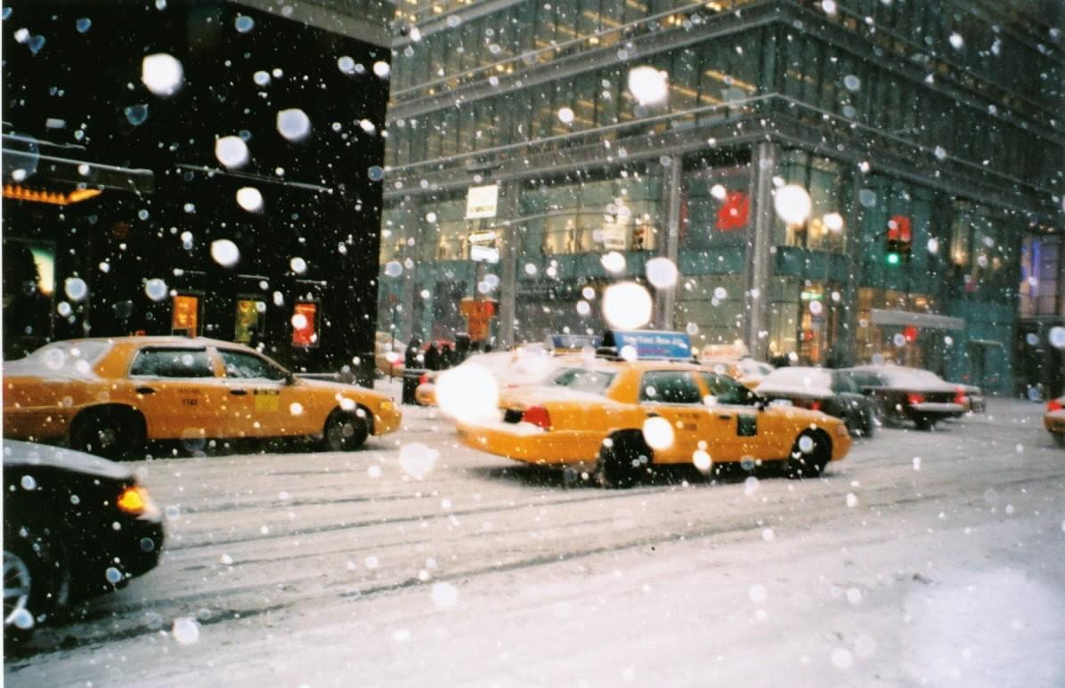 Encuentros inesperados (Aeneas 13-1-2019) NY_taxi%2Bsnow