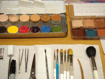 Pro-Fx Makeup Tips - 'Laying out your Kit'
