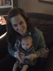Mommy and Dylan on her 1st Thanksgiving