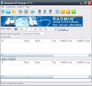 IP Scanner - Aplikasi Pendeteksi IP Address