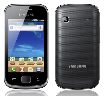 Harga Spesifikasi Samsung Galaxy Gio S5660 :