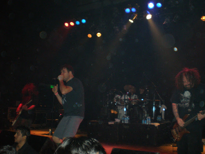 napalm death en vivo