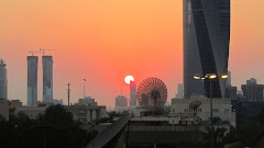 Sunrise in Kuwait City