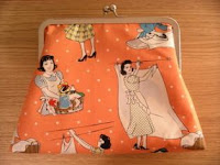 Laundry Day Clutch Purse