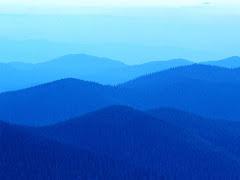 colinas azules