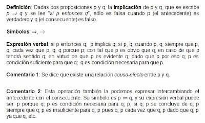 5 ejemplo proposicion compuesta implicacion: