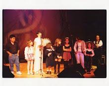 Crianças que participaram do primeiro CD