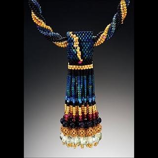 Бисерные украшения от Джудит Вуд (Judith Wood) .