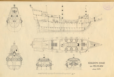 Golden Hind 1575 on home plans