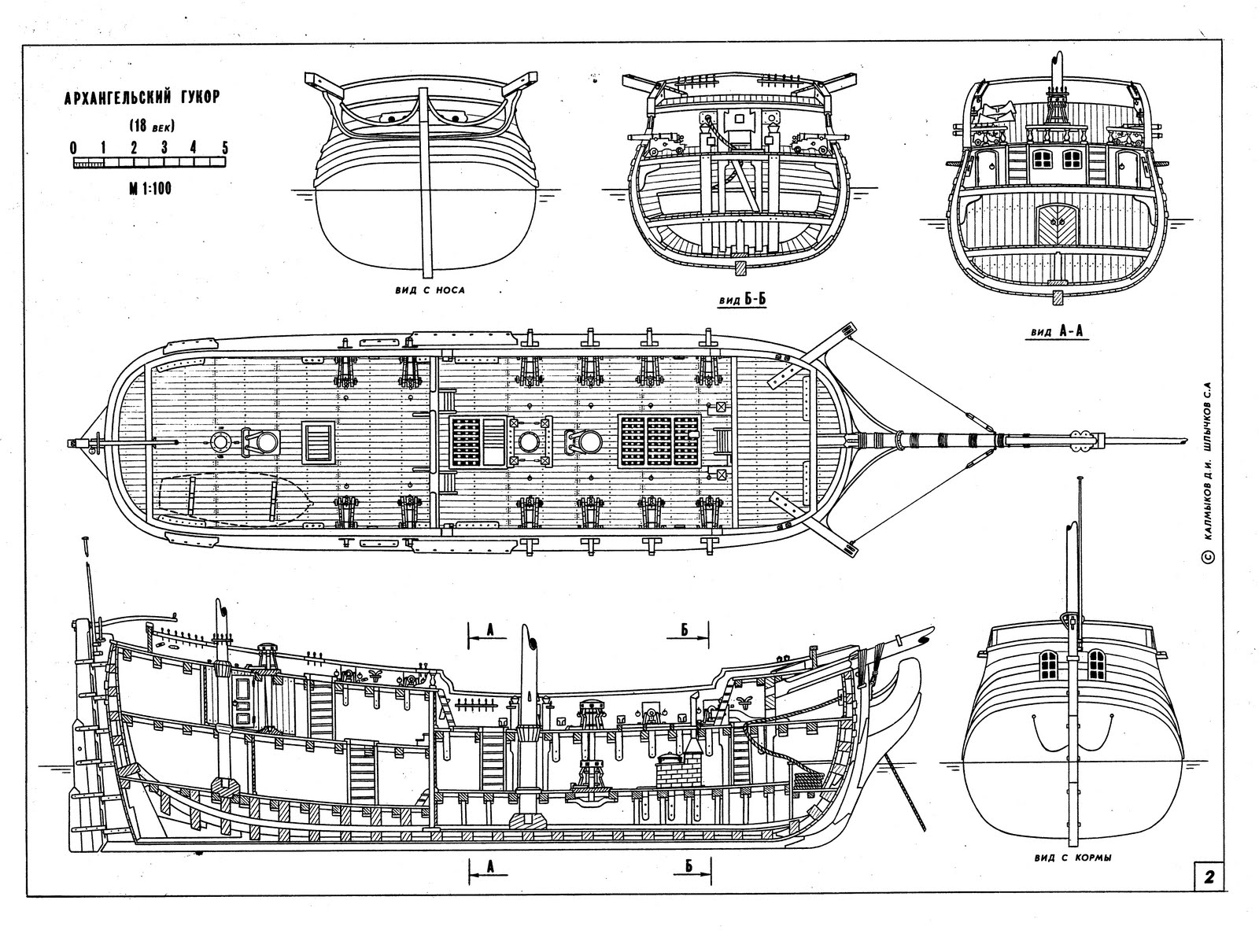 Model Ship Plans - free download