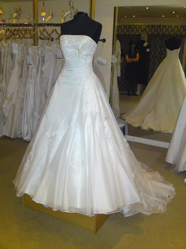 Show Me Your Organza Wedding Dresses