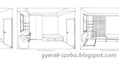 Gyerekszoba tervező és lakberendező - Gere Krisztina - Dekorációs falfestő: Romantikus dekoráció ...