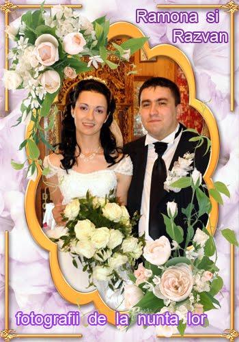Ramona  si  Razvan  - Fotografii  de la nunta