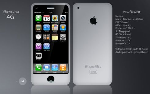 Next is an iphone 4
