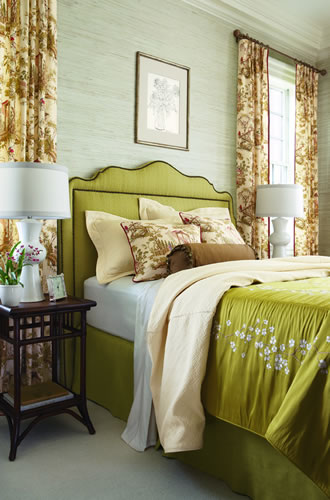 Turquoise, Tulips and Bliss: Wednesday's Upholstered Headboard ...