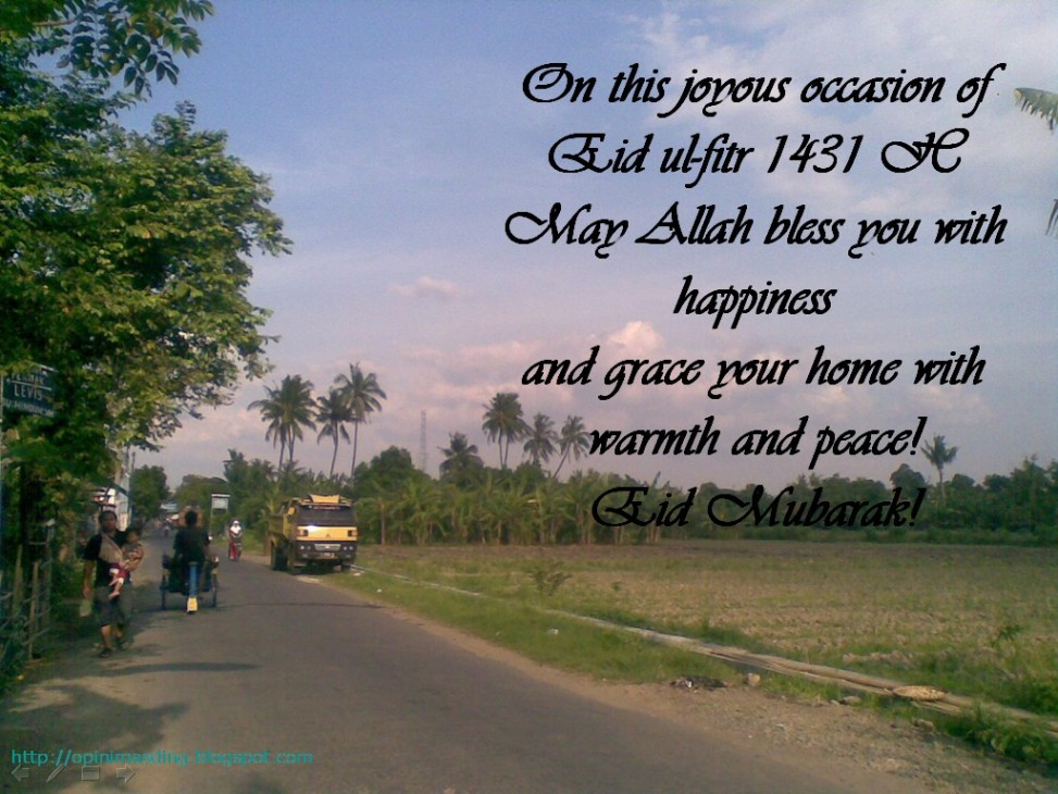 Greeting Card Eid Mubarak 1431 H Version 3rd