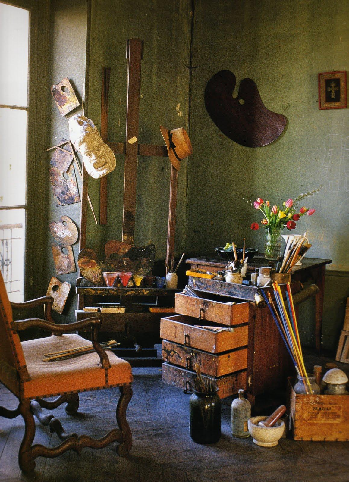 La maison boheme andr derain 39 s studio for Andre maurois la maison