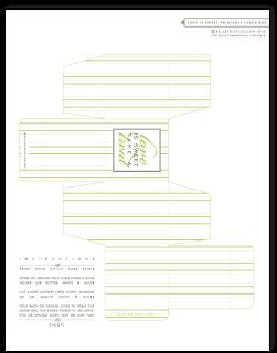 pdf favor box template free