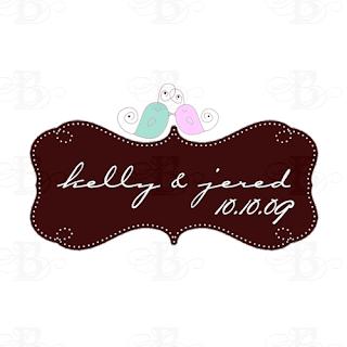 custom lovebird monogram