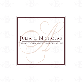 wedding monogram logo design