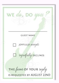 we do do you rsvp custom wedding invitation design