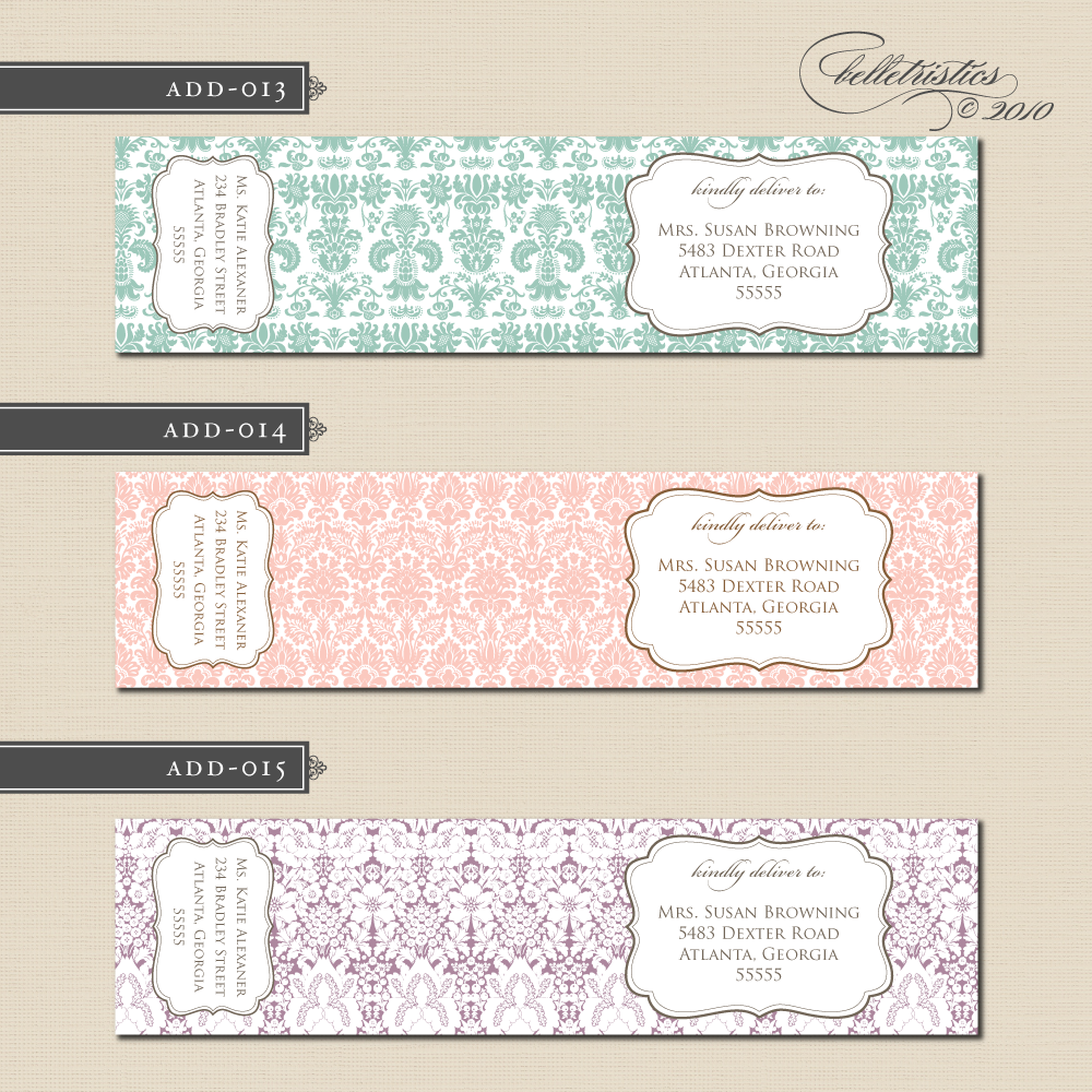 labels design