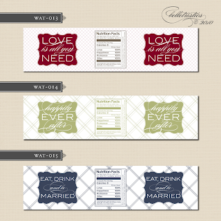 custom wedding water bottle label sticker design printable diy