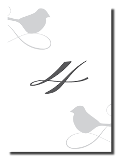 custom love bird table number designs