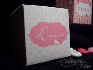 love bird favor box printable PDF template