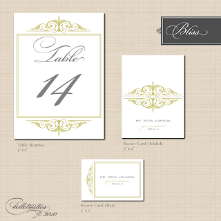 printable bliss ready made stationery design table numbers escort card