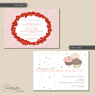 printable valentine invitation design
