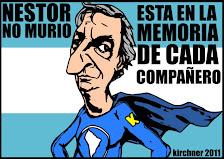 Gracias Néstor, Aguante Cristina