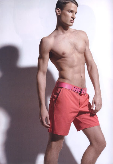 male model Dennis Hirdt