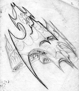 Caemoor, a supernave de combate que o Alma de Aço teria de enfrentar em sua saga