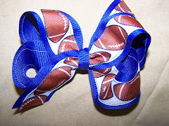Sports Themed Hairbows