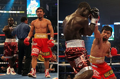 Manny Pacquiao Wins Fight Against Joshua Clottey in Unanimous Decision