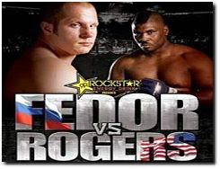 Strikeforce Fedor vs Rogers November 7 2009