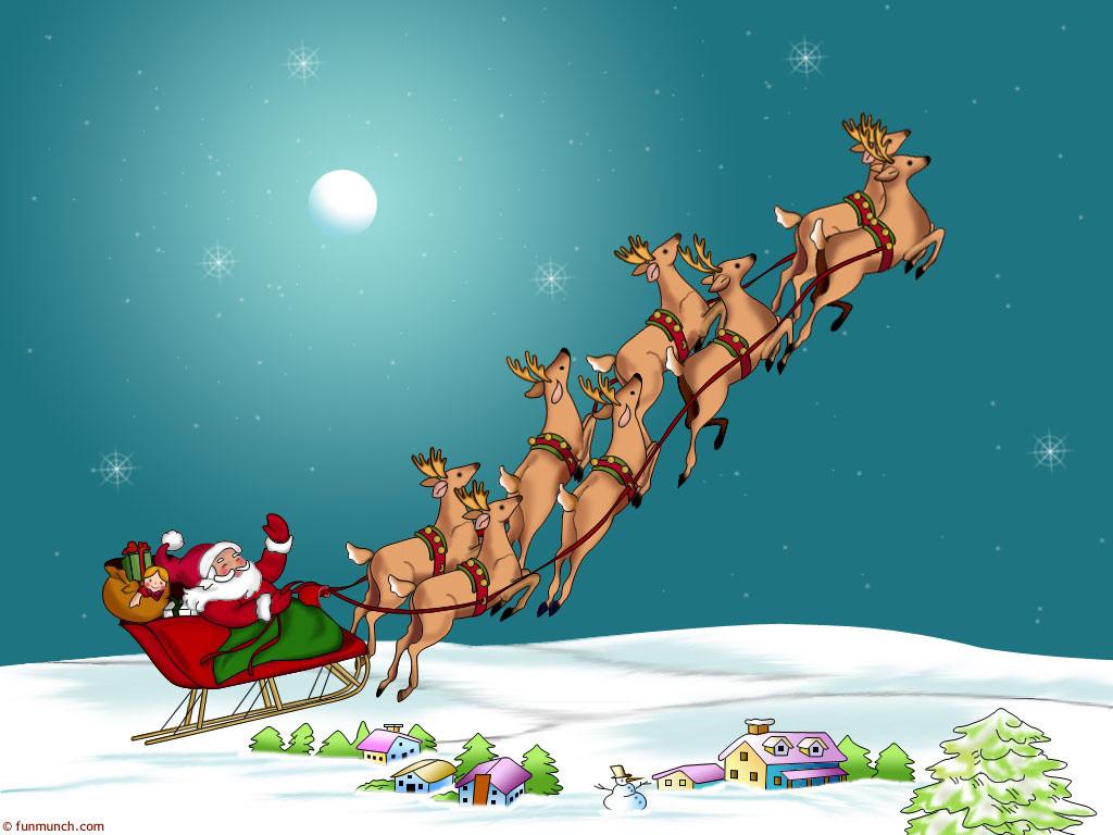 """Défi écriture 18 : """"Si j'étais le père Noël..."""" Blog%2B-pere-noel-traineau-renes"""