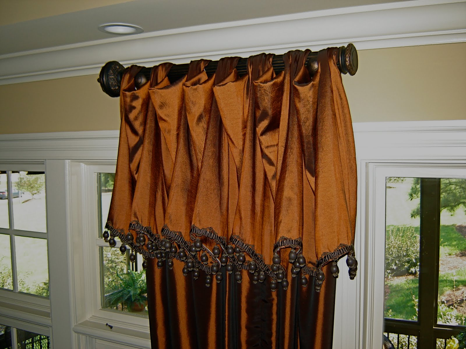 In Stitches: Window Treatment Ideas