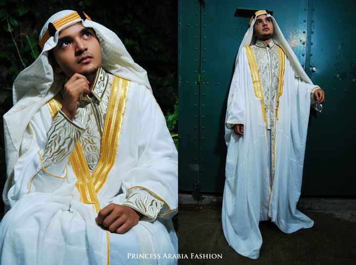 Saudi Arabian Wedding Thobe for Groom