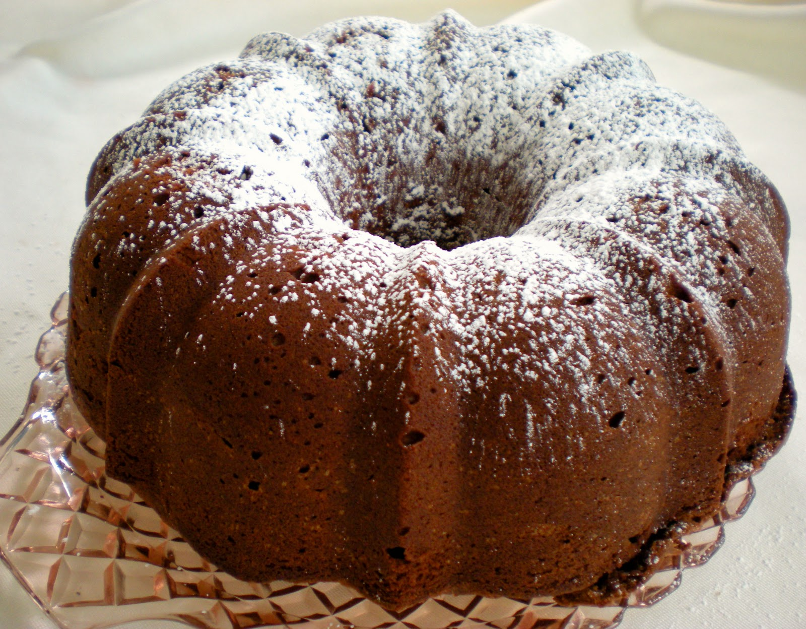 ... Cook and Her Books: Bake a chocolate pound cake for the ones you love