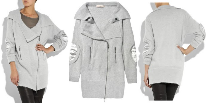 PREEN LINE - angora-knit cardigan. available at net-a-porter