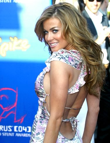 Carmen Electra Wedding Dress