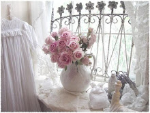 Ironstone, white paint and shabby chic